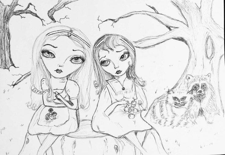 forest-girls-sketch