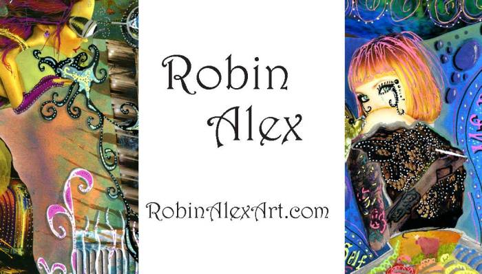 Robin Alex Business Card