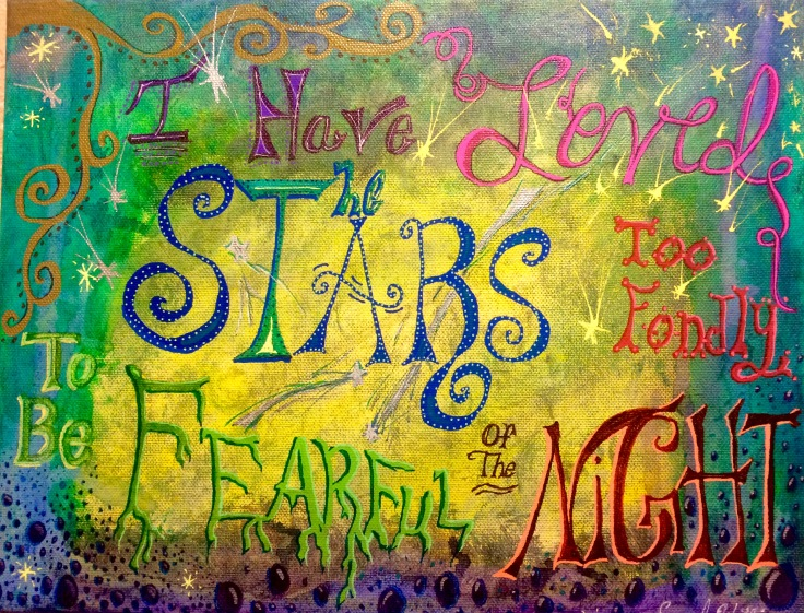 Stars Night canvas
