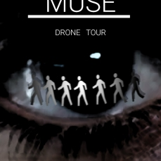 I was at this show and loved it. Hopefully Muse would like my take on their poster.
