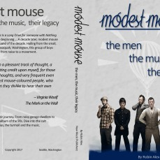 A demo book cover for Modest Mouse