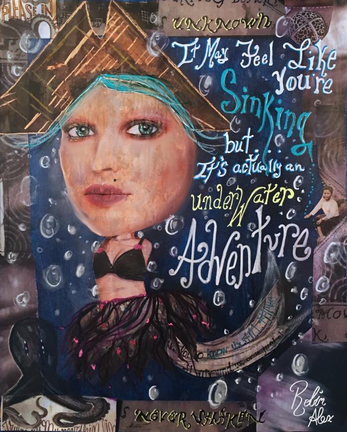 underwater adventure with sig